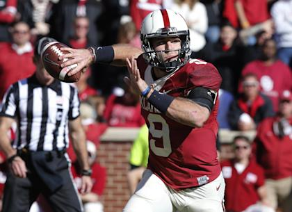 Oklahoma transfer Trevor Knight will provide stability at quarterback for Texas A&M. (AP Photo/Sue Ogrocki)