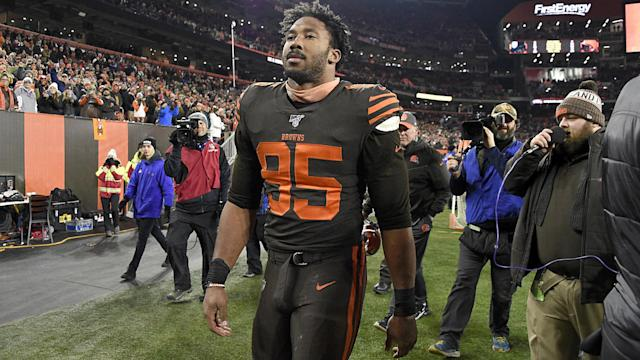 Steelers vs. Browns brawl: A complete list of suspensions and fines, from Myles Garrett to Mason Rudolph