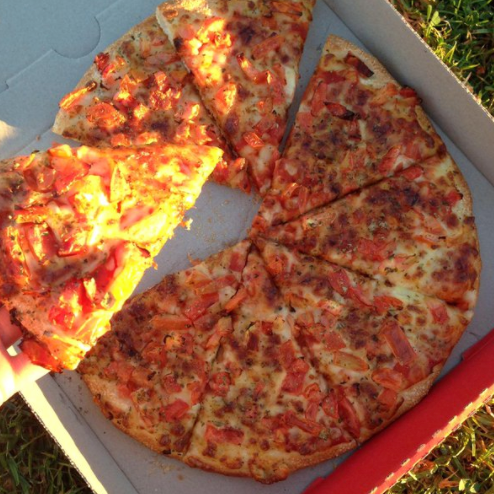 Who doesn't love the veteran Margie? Photo: Pizza Hut Twitter