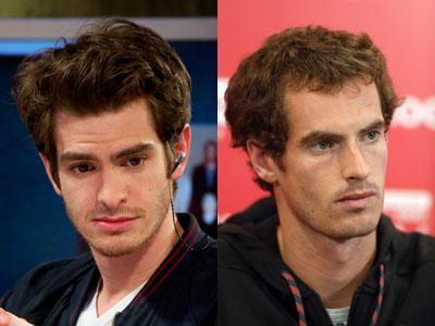 Andrew Garfield / Andy Murray