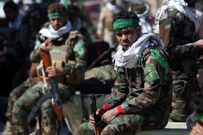 Iran has actively and visibly supported Baghdad's biggest operation yet against the Islamic State group but General Martin Dempsey insisted US air strikes north of Tikrit had been key (AFP Photo/Ahmad Al-Rubaye)