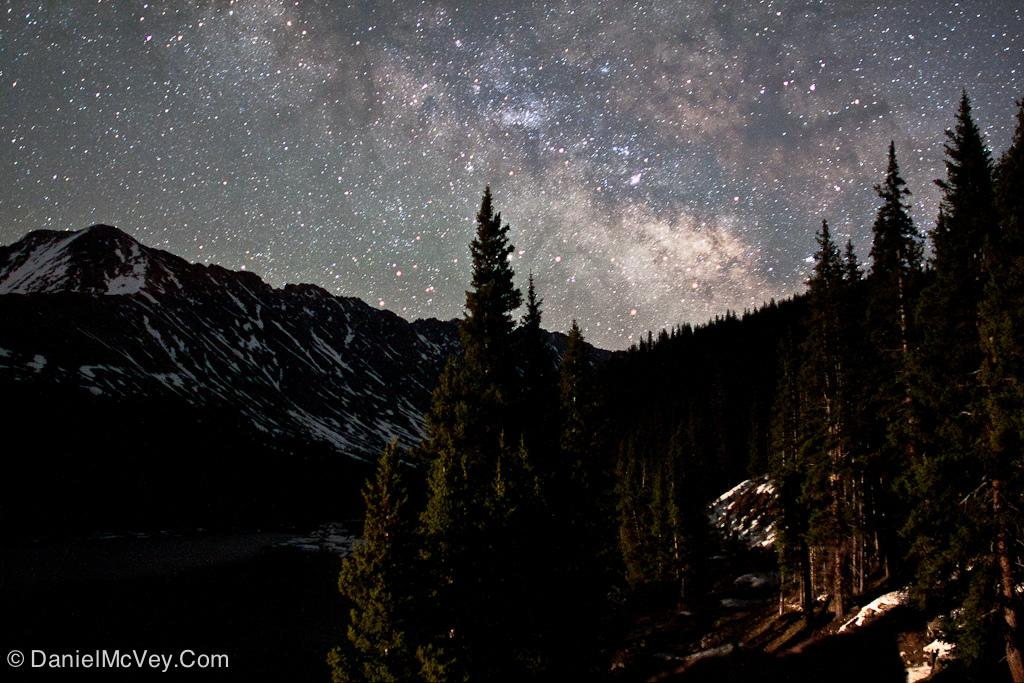 The Milky Way over Clinton Gulch, Colorado.  (Photo: Daniel G McVey/Flickr)