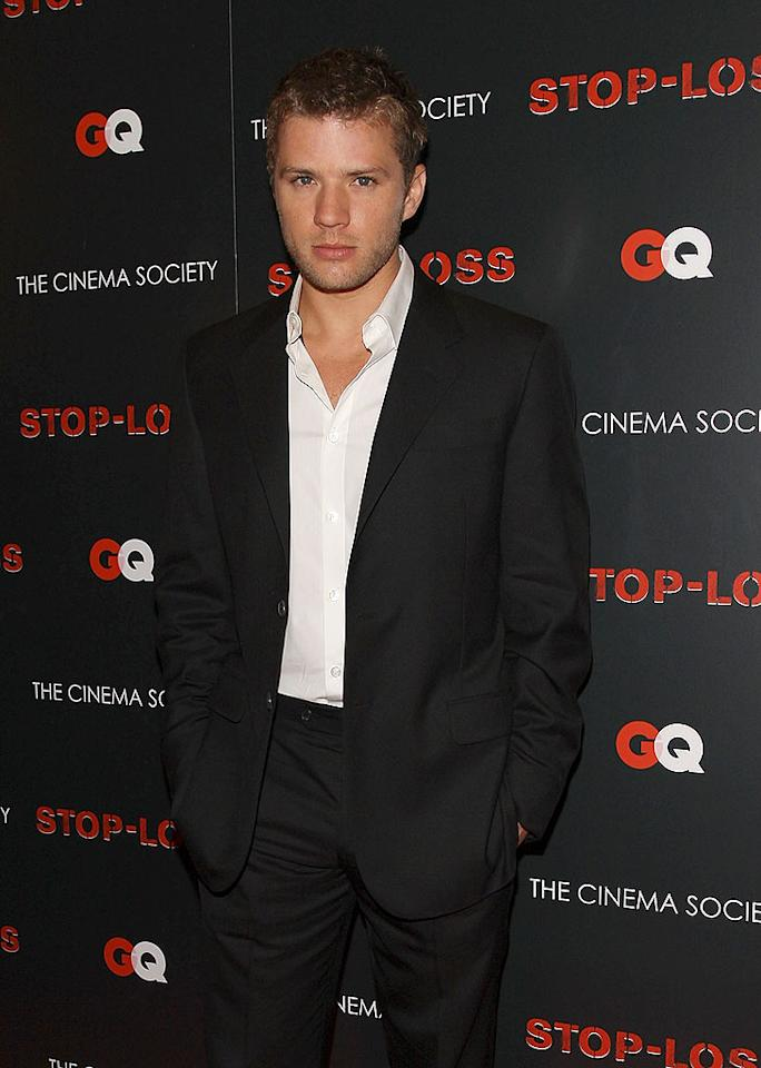 """The brooding Ryan Phillippe rocks a light beard like no one else! Stephen Lovekin/<a href=""""http://www.gettyimages.com/"""" target=""""new"""">GettyImages.com</a> - March 20, 2008"""