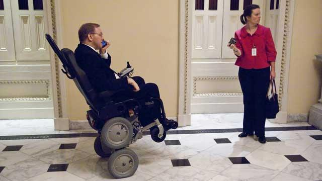 Paralyzed Rep. to Make Victims Visible