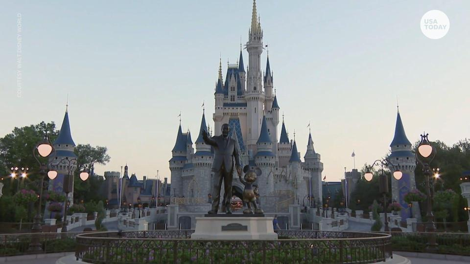 Disney World's Magic Kingdom is still planning to reopen Saturday, July 11.