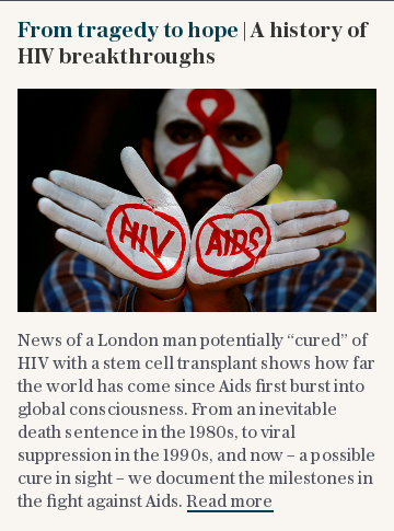 From tragedy to hope | A history of HIV breakthroughs