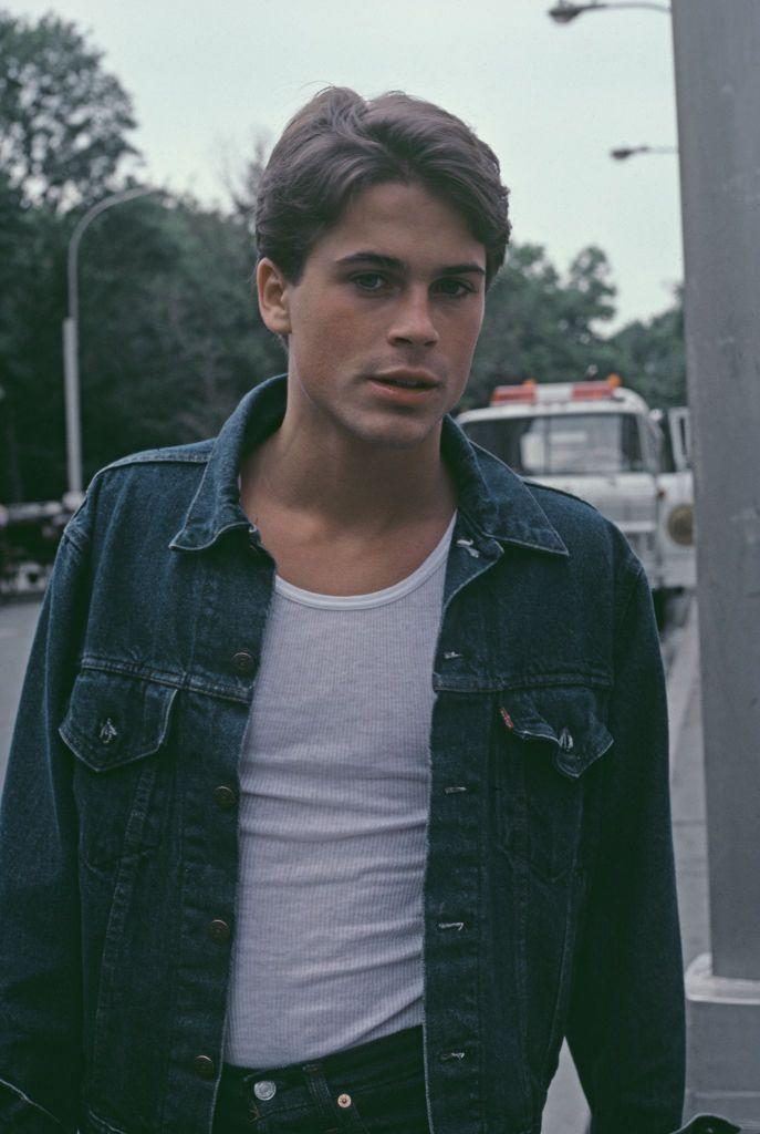 <p>Rob Lowe's career took off with the 1983 TV film <em>Thursday's Child, </em>earning him a nomination for a Golden Globe. Hollywood took notice and Lowe cemented himself as part of the Brat Pack, starring in <em>St. Elmo's Fire</em> and <em>About Last Night. </em></p>