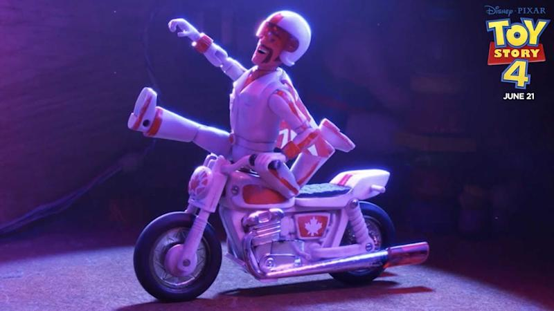 Duke Caboom from Toy Story 4