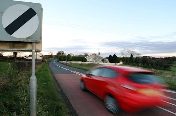 Slow signs plan for rural roads