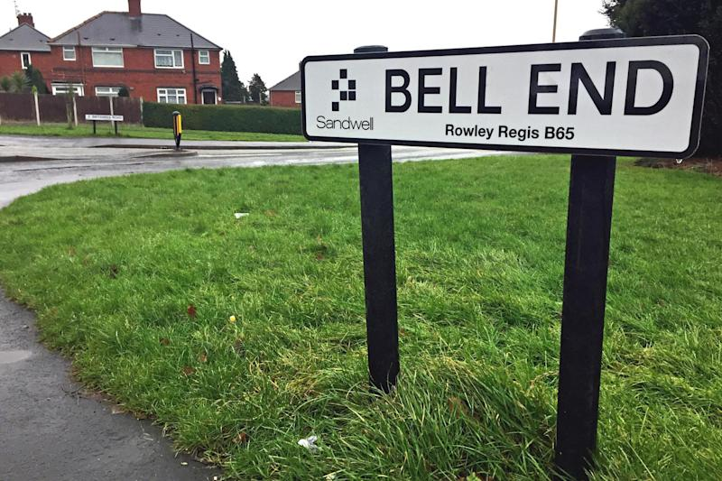 'Laughing stock': The name Bell End has been criticised by residents after fears it could be misconstrued as offensive: PA