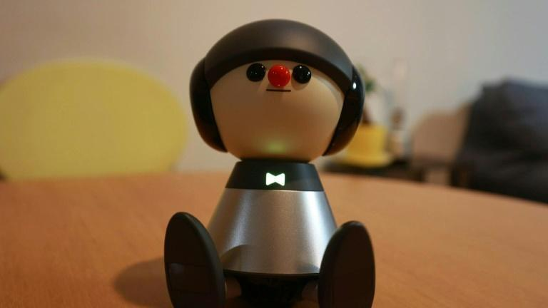 Japan's android pet eases virus isolation
