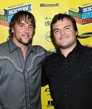 Richard Linklater and Jack Black