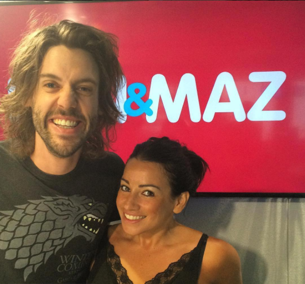 The pair only had 10 months on the air. Source: 2Day FM