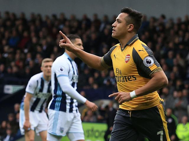 Sanchez honed his skills as a footballer in the streets of his home town: Getty