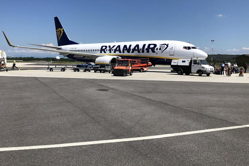 Cash call: Ryanair has been criticised for slow refunds for passengers whose flights were cancelled: Simon Calder