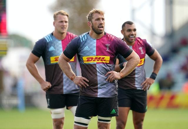 It was a disappointing day for Chris Robshaw and Quins