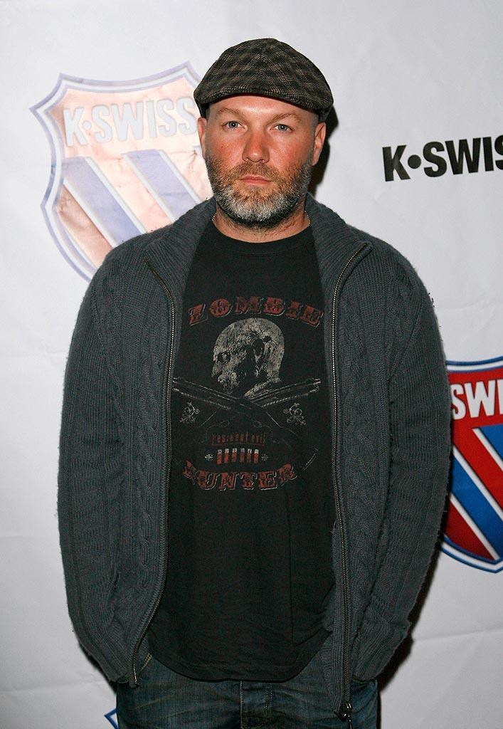 """We haven't seen Limp Bizkit lead singer Fred Durst in a while, but apparently he feels passionately about his K-Swiss! Jean Baptiste Lacroix/<a href=""""http://www.wireimage.com"""" rel=""""nofollow noopener"""" target=""""_blank"""" data-ylk=""""slk:WireImage.com"""" class=""""link rapid-noclick-resp"""">WireImage.com</a> - March 13, 2008"""