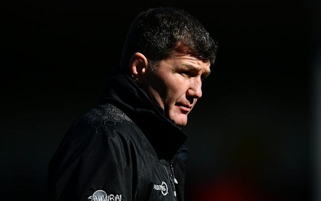 <span>Rob Baxter and his coaching staff recruit players they can improve, not ready-made superstars</span> <span>Credit: Dan Mullan/GETTY IMAGES </span>