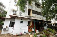 U.S. Senator Harris' maternal grandparents' former apartment is pictured where she visited occasionally, in Chennai
