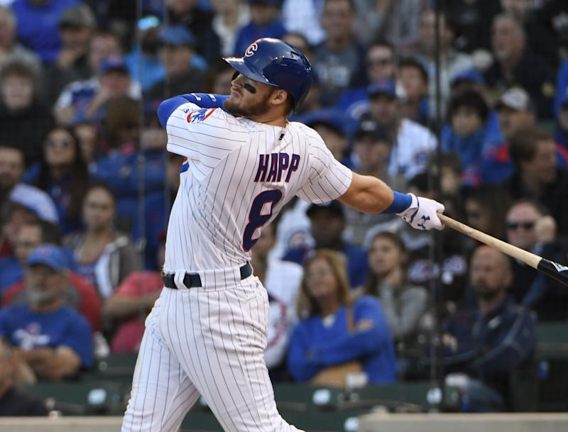 Ian Happ's strong rookie season got lost in the shuffle. (Getty Images)