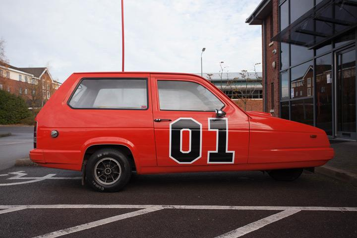 This General Lee Remake Sure Is One Dodgy Charger