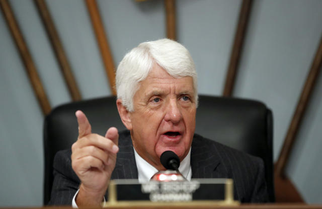 "<span class=""s1"">Rep. Rob Bishop of Utah chairs a November hearing of the House Committee on Natural Resources to examine Puerto Rico's recovery. (Photo: Alex Brandon/AP)</span>"