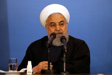 Iran is ready to negotiate but not if negotiations mean surrender: Iran president