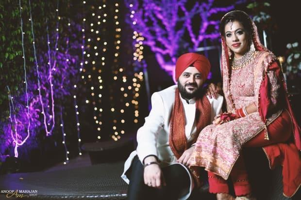 Ajay and Nupur were married in Delhi in October 2018.
