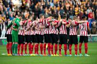 Dentists and doctors examined 187 players at eight football clubs in England and Wales for the study, five of which were in the Premier League: Hull, Manchester United, Southampton (pictured), Swansea City and West Ham (AFP Photo/Oli Scarff)