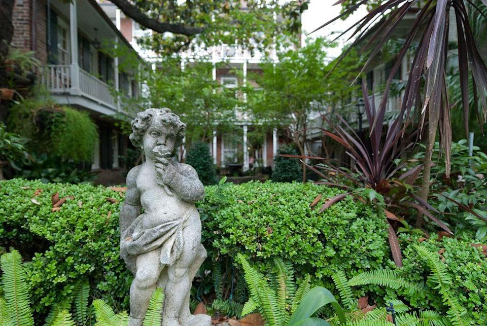 "<p>Centered on a pretty courtyard this property <em>seems </em>harmless. But the idyllic hotel has become a popular stop on ghost tours of the Big Easy thanks to a dark past. Built where a school burnt to the ground during the 1880s, the hotel is supposedly home to many ghosts from the tragedy. Among the most frequently spotted are a distressed little girl and an old man who both seem to vanish into thin air. </p><p><a class=""link rapid-noclick-resp"" href=""https://go.redirectingat.com?id=74968X1596630&url=https%3A%2F%2Fwww.tripadvisor.com%2FHotel_Review-g60864-d111993-Reviews-Place_d_Armes_Hotel-New_Orleans_Louisiana.html&sref=https%3A%2F%2Fwww.countryliving.com%2Flife%2Ftravel%2Fg2689%2Fmost-haunted-hotels-in-america%2F"" rel=""nofollow noopener"" target=""_blank"" data-ylk=""slk:PLAN YOUR TRIP"">PLAN YOUR TRIP</a> </p>"