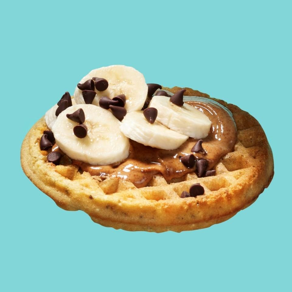 <p>Top a whole-grain freezer waffle with nut butter, banana slices and chocolate chips for a decadent-tasting and healthy breakfast or snack you can whip up when you're short on time. This high-protein, high-fiber breakfast may be ready before your coffee is finished brewing.</p>