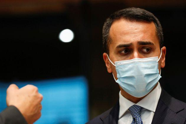 Italian Foreign Minister Luigi Di Maio is seen prior to a European Union Foreign ministers meeting, in Luxembourg, on June 21, 2021. (Photo by JOHANNA GERON / POOL / AFP) (Photo by JOHANNA GERON/POOL/AFP via Getty Images) (Photo: JOHANNA GERON via Getty Images)