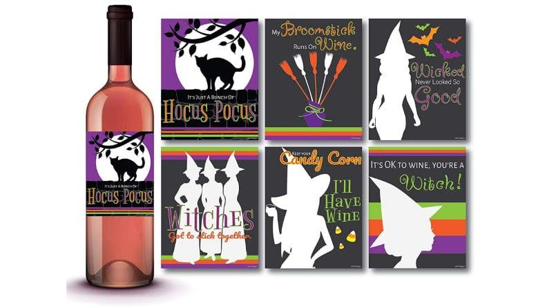 These wine labels look great on any bottle.