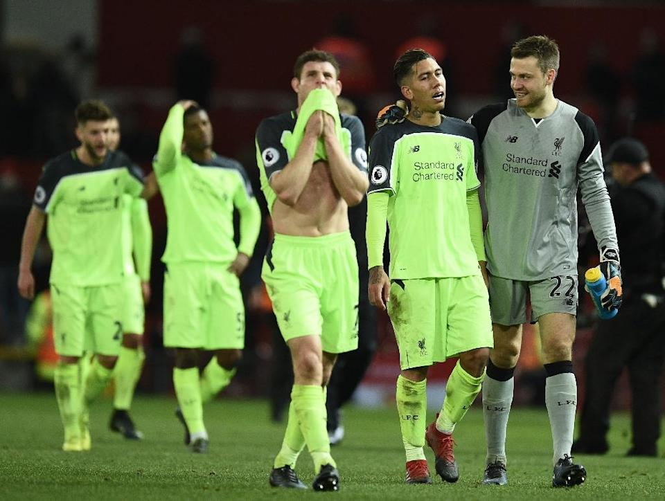 Liverpool won only one of their last 10 matches (AFP Photo/Oli SCARFF )