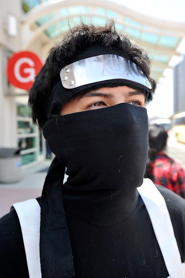 SAN DIEGO, CA - JULY 11:  Everett Reyna dresses up for 2012 Comic-Con at the San Diego Convention Center on July 11, 2012 in San Diego, California.  (Photo by Jerod Harris/Getty Images)