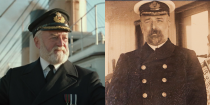 <p>Bernard Hill (who also played Théoden in <em>The Lord of the Rings</em>) played Edward James Smith, who captained the <em>Titanic </em>and died when the ship sank. He was survived by his wife and their daughter.</p>