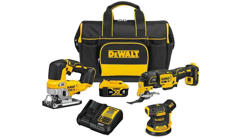 Upgrade your workshop with new tools by Dewalt! (Photo: Lowe's)