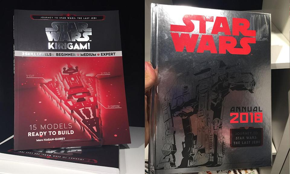 <p>Star Wars Kirigami and the 2018 Star Wars annual are just a few of the new Star Wars books coming for Force Friday II (Yahoo Movies UK/Disney) </p>