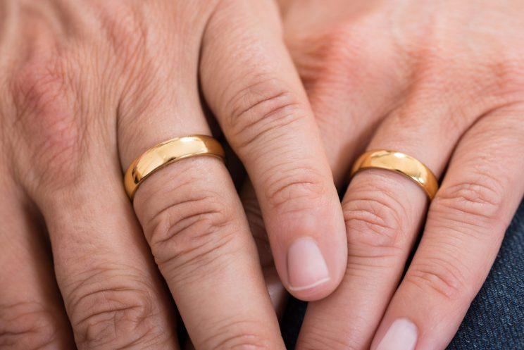 82 year old man finds lost wedding ring in most organic way - Lost Wedding Ring
