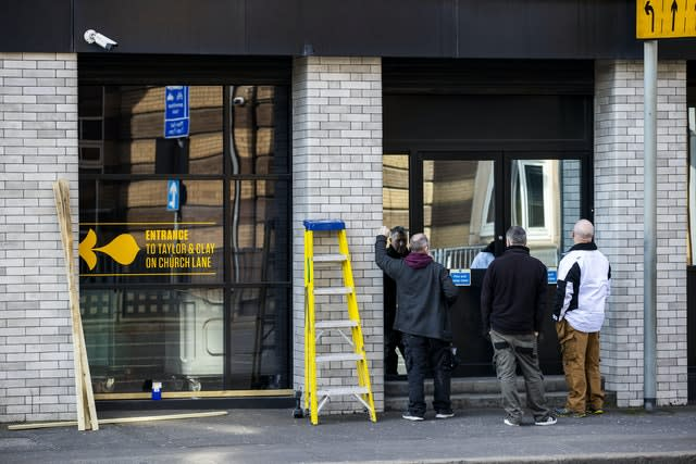 Bill Wolsey's Beannchor group includes the Bullitt Hotel in Belfast city centre which was boarded up during lockdown (Liam McBurney/PA)