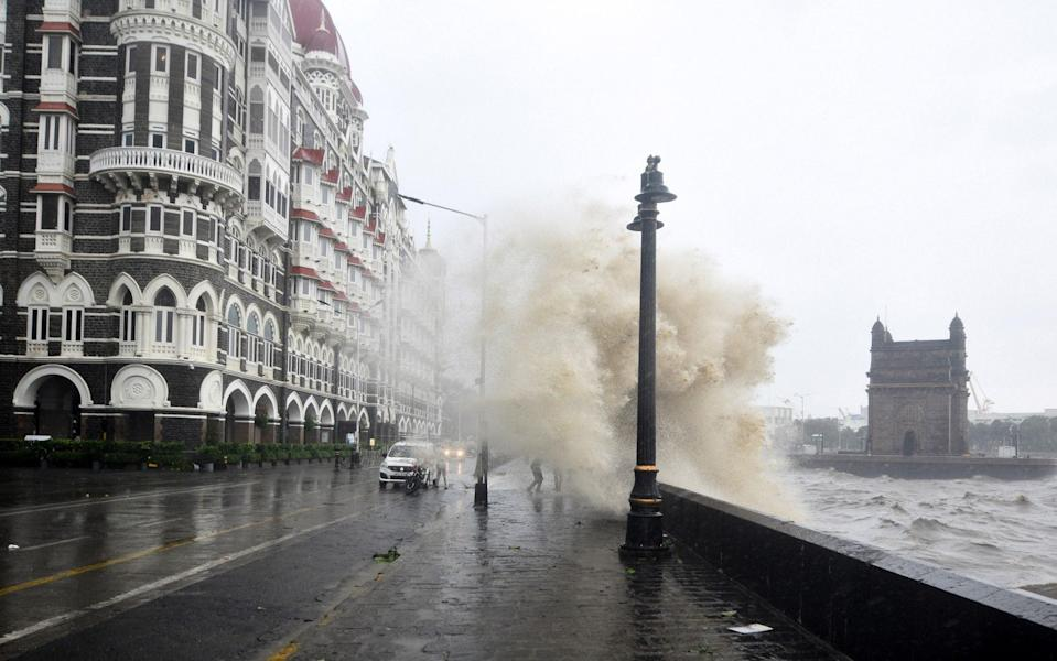 India's historic architecture is hit by the cyclone - Anadolu Agency