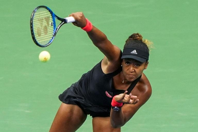 Ground breaking: Naomi Osaka becomes the first Japanese woman to reach a Grand Slam final with a US Open victory over Madison Keys