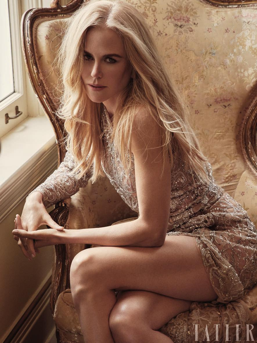 Nicole Kidman opens up in a recent interview about her experiences of losing two pregnancies. (Photo: <span>Victor Demarchelier/<em>Tatler</em>)</span>