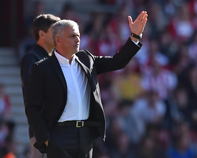Jose Mourinho made a key defensive substitution to ensure Manchester United won at Southampton.
