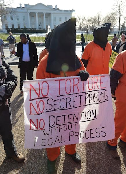 US President Barack Obama has been trying to close Guantanamo Bay since taking office in 2009, but Congress has balked at his efforts (AFP Photo/Mandel Ngan)