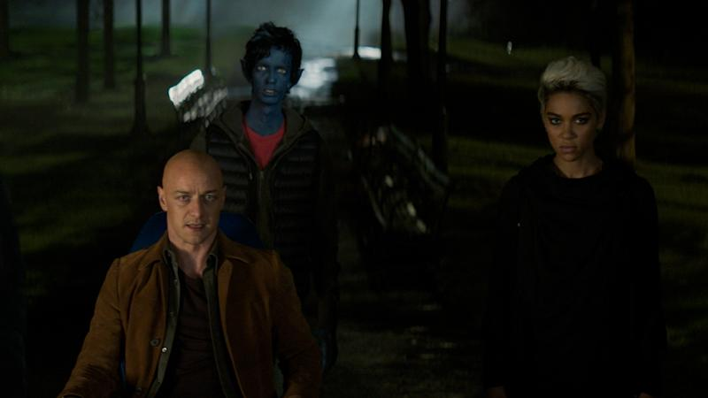 James McAvoy, Kodi Smit McPhee and Alexandria Shipp return to the superhero fold in 'X-Men: Dark Phoenix'. (Credit: Fox)