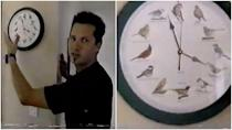 """<p>The dude from Sugar Ray might not have a hot tub in the middle of his living room, but he has this bird clock that """"chimes a different bird call every hour,"""" so.</p>"""