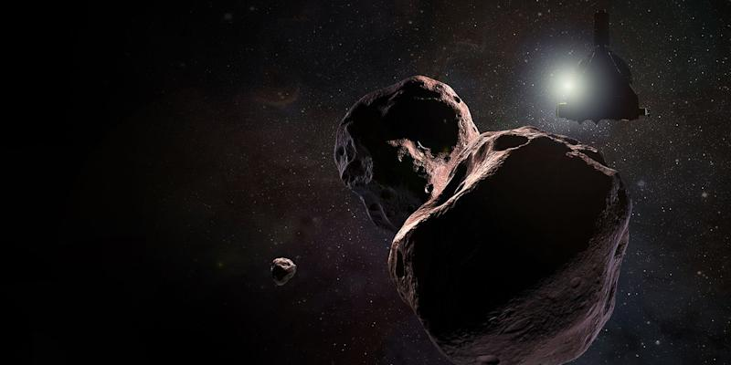 Ultima Thule's 'snowman' shape revealed