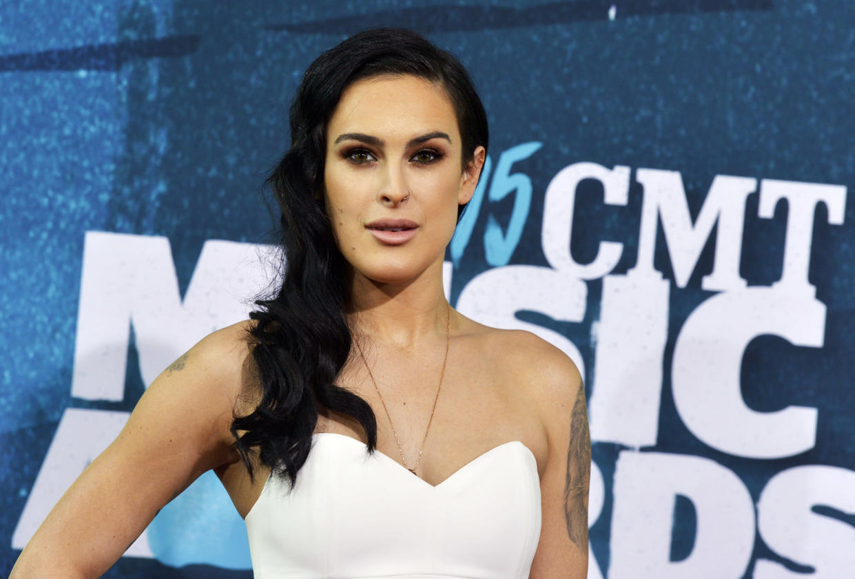 Rumer Willis snapped back at a fan who criticized her sexy photo shoot. (Photo: REUTERS/Eric Henderson)