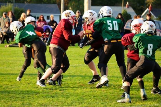Many students, parents and coaches hope to resume fall football, but they await approval from the Ontario government. (Football Newfoundland and Labrador/Facebook - image credit)